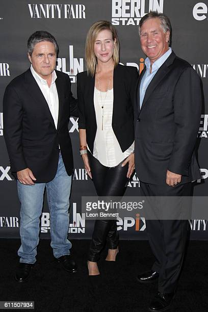 Chairman and CEO of Paramount Pictures Brad Grey President of Paramount Television Amy Powell and President/CEO of EPIX Mark Greenberg attends...