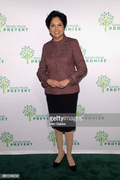 Chairman and CEO of PepsiCo Indra Nooyi attends the Sandy Hook Promise 5 Year Remembrance Benefit at The Plaza Hotel on December 12 2017 in New York...