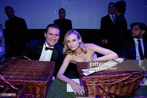 Chairman and CEO of Pernod Ricard Group, Alexandre Ricard and actress Diane Kruger attend a fully immersive gastronomic experience, designed around...