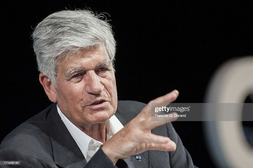 Chairman and CEO of Publicis Groupe, Maurice Levy attends the 'Publicis Groupe Seminar' during the Cannes Lions International Festival of Creativity on June 21, 2013 in Cannes, France.