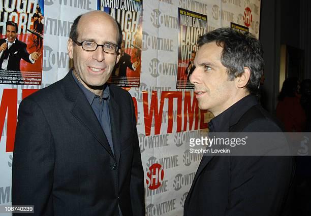Chairman and CEO of Showtime Matt Blank and Ben Stiller