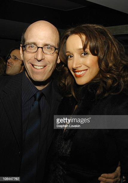 Chairman and CEO of Showtime Matt Blank and Jennifer Beals