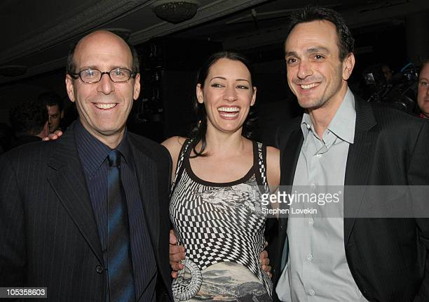 Chairman and CEO of Showtime Matt Blank Paget Brewster and Hank Azaria