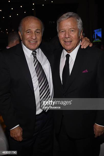 Chairman and CEO of Sony Music Entertainment Doug Morris and owner of the New England Patriots Robert Kraft attend the Sony Music Entertainment 2015...