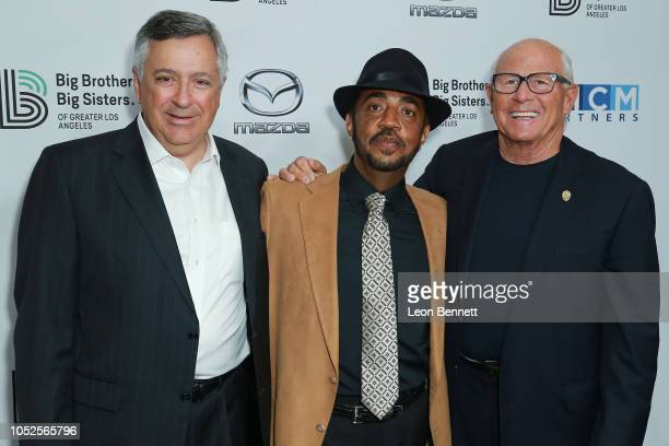 Chairman and CEO of Sony Pictures Tony Vinciquerra Terry Williams and Steve Soboroff attends Big Brothers Big Sisters Of Greater Los Angeles Big Bash...