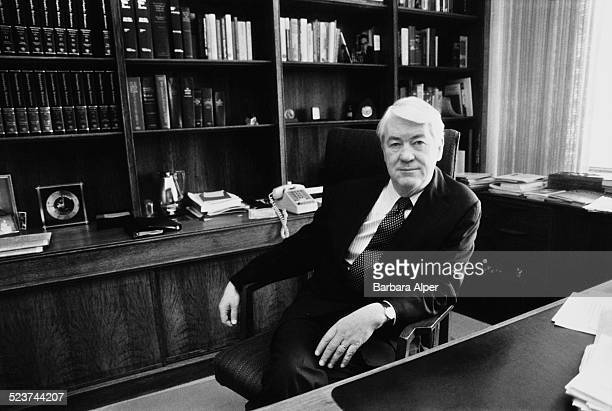 Chairman and CEO of the Merck chemical and pharmaceutical company John Horan New Jersey USA 2nd November 1982