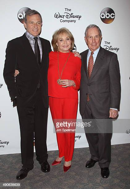 Chairman and CEO of The Walt Disney Company Bob Iger journalist/tv personality Barbara Walters and former Mayor of New York City Michael Bloomberg...
