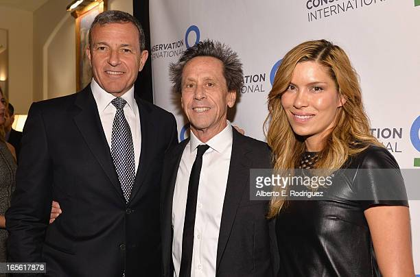Chairman and CEO of The Walt Disney Company Bob Iger producer Brian Grazer and Veronica Smiley attend Conservation International's 17th Annual Los...