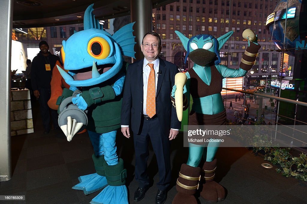Chairman and CEO of Toys 'R' Us, Inc Jerry Storch attends Activision Reveals Innovative Skylanders SWAP Force at Toy Fair Event at NASDAQ MarketSite on February 5, 2013 in New York City.
