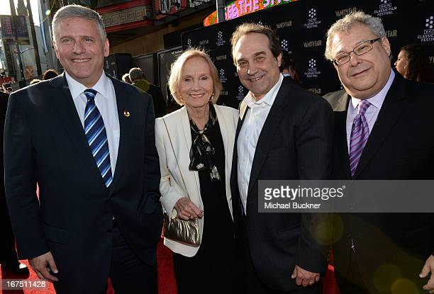 Chairman and CEO of Turner Broadcasting Phil Kent actress Eva Marie Saint general manager of TCM Jeff Gregor and president of Turner Entertainment...