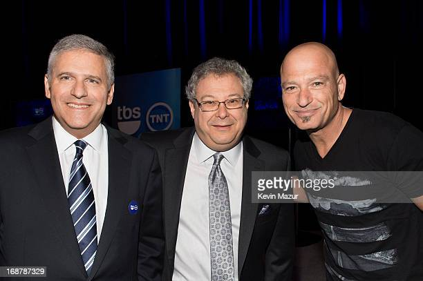 Chairman and CEO of Turner Broadcasting Systems Phil Kent President of Turner Entertainment Networks Steve Koonin and Howie Mandel attend the 2013...