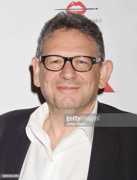 Chairman and CEO of Universal Music Group Lucian Grainge arrives at the Universal Music Group's 2017 GRAMMY After Party at The Theatre at Ace Hotel...