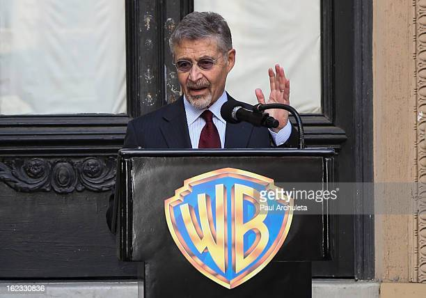 Chairman and CEO of Warner Bros Entertainment Barry M Meyer attends the presentation of the 2nd annual Made In Hollywood Award to the crew of the...