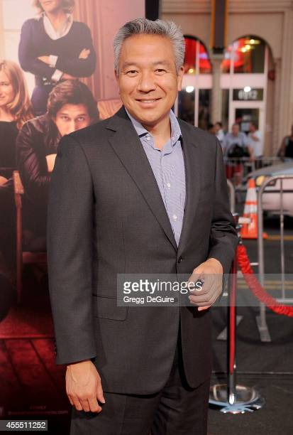 Chairman and CEO of Warner Bros Entertainment Kevin Tsujihara arrives at the Los Angeles premiere of This Is Where I Leave You at TCL Chinese Theatre...