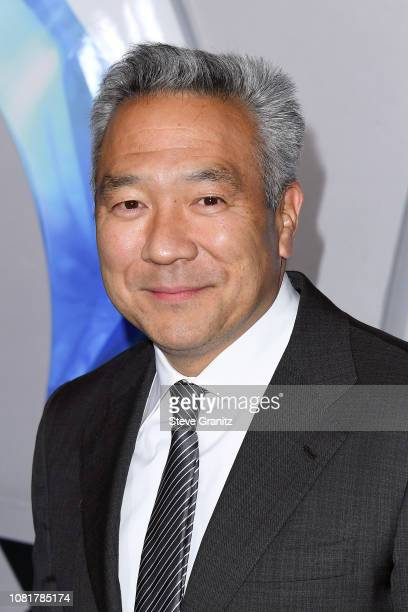 Chairman and CEO of Warner Bros Entertainment Kevin Tsujihara attends the premiere of Warner Bros Pictures' Aquaman at TCL Chinese Theatre on...