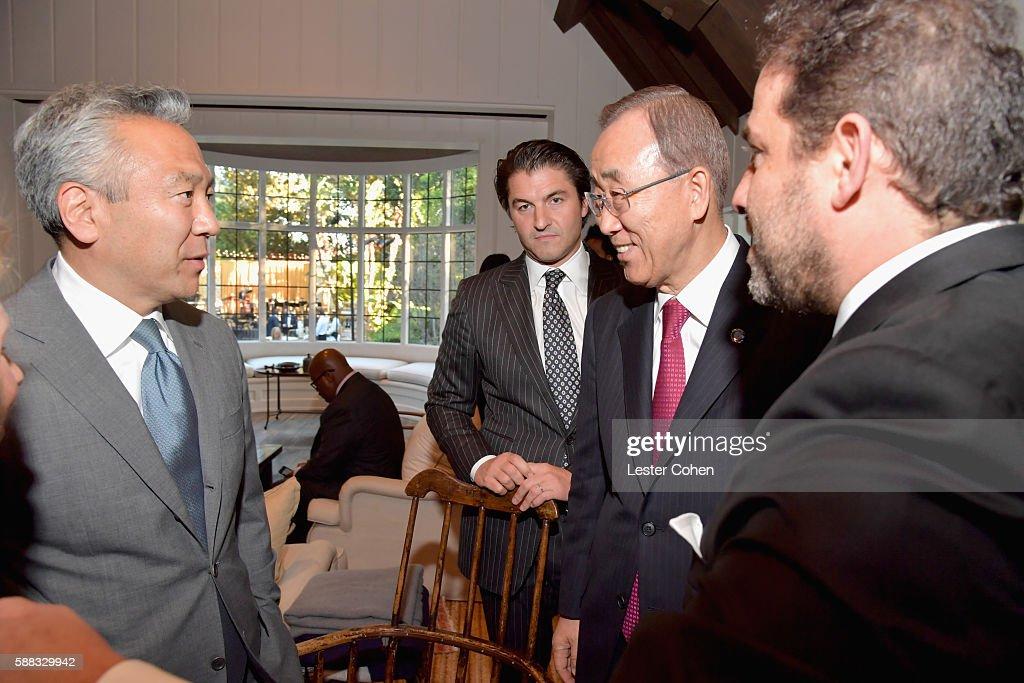 RatPac Entertainment Hosts Special Event For UN Secretary-General Ban Ki-moon - Inside : News Photo