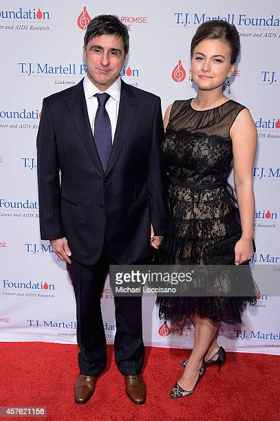 Chairman and CEO Sony Music Entertainment Latin Iberia Afo Verde and guest attend the TJ Martell Foundation's 39th Annual New York Honors Gala at...