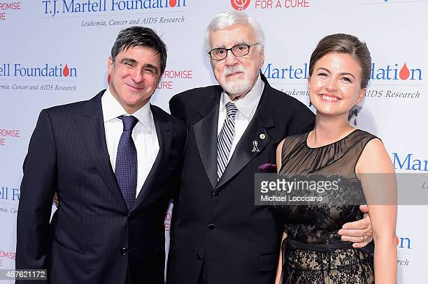 Chairman and CEO Sony Music Entertainment Latin Iberia Afo Verde TJ Martell Foundation founder and chairman Tony Martell and guest attend the TJ...