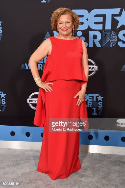 Chairman and Chief Executive Officer of BET Debra L Lee at the 2017 BET Awards at Microsoft Square on June 25 2017 in Los Angeles California