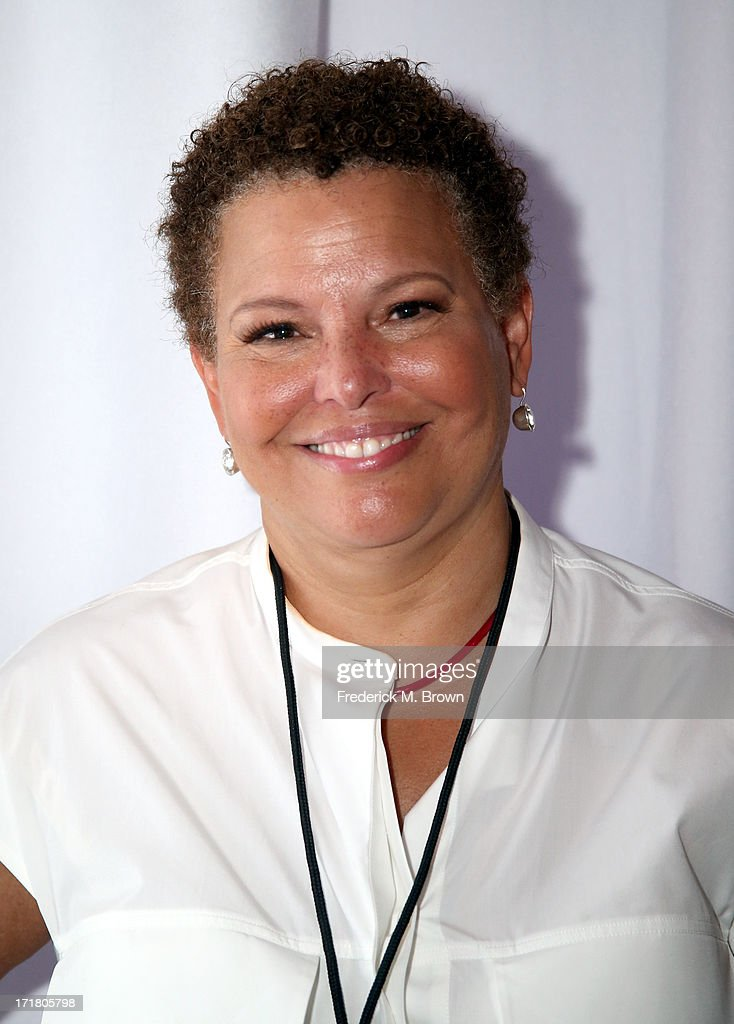 Chairman and Chief Executive Officer of BET Debra L. Lee attends Radio Room Day 1 during the 2013 BET Awards at JW Marriott Los Angeles at L.A. LIVE on June 28, 2013 in Los Angeles, California.
