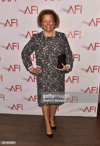 Chairman and Chief Executive Officer of BET Debra L Lee attends the 18th Annual AFI Awards at Four Seasons Hotel Los Angeles at Beverly Hills on...