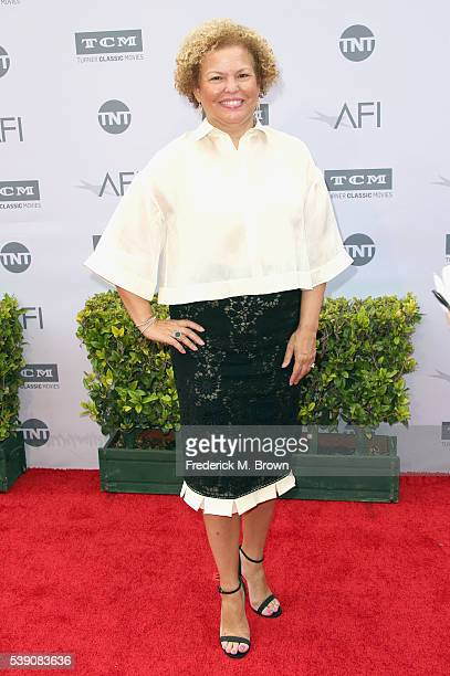 Chairman and Chief Executive Officer of BET Debra Lee arrives at the American Film Institute's 44th Life Achievement Award Gala Tribute to John...