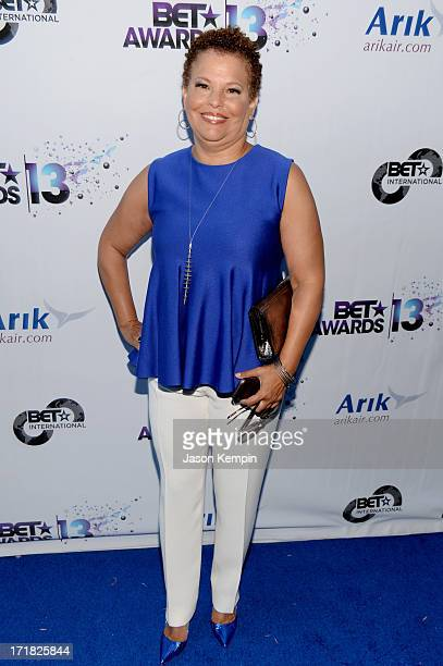 Chairman and Chief Executive Officer of BET Debra Lee attends the International Party during the 2013 BET Awards at JW Marriott Los Angeles at LA...