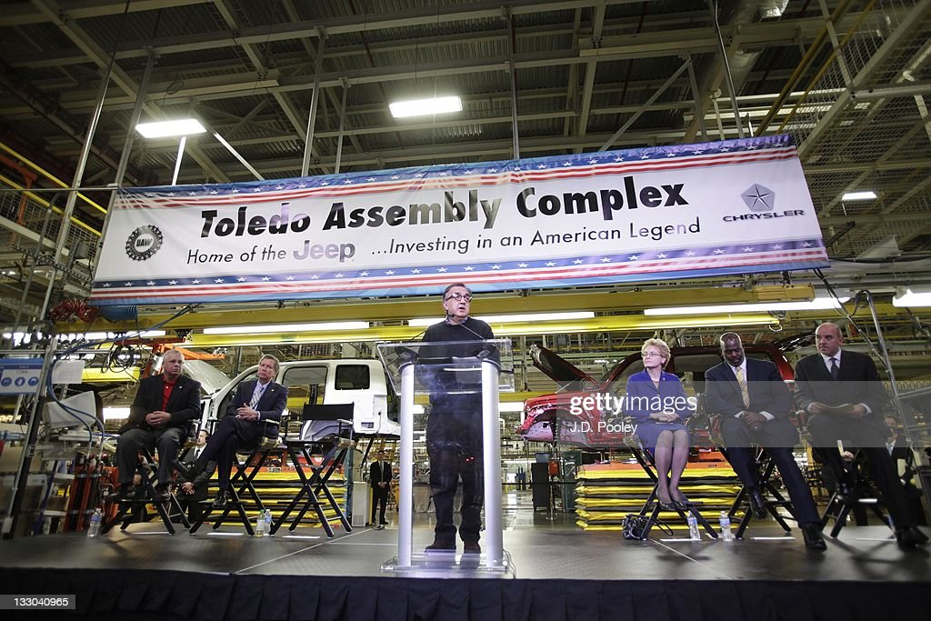 Chrysler CEO Announces Plans For Toledo Assembly Complex