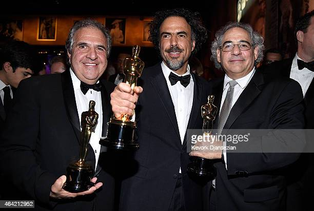 Chairman and Chief Executive Officer of Fox Filmed Entertainment Jim Gianopulos Director Alejandro Gonzalez Inarritu winner of Best Original...