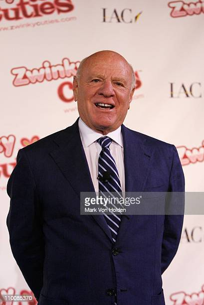 Chairman and Chief Executive Officer of IAC Barry Diller attends the Hollywood Records Star Jordan Pruitt Joins IAC CEO Barry Diller For Debut of New...