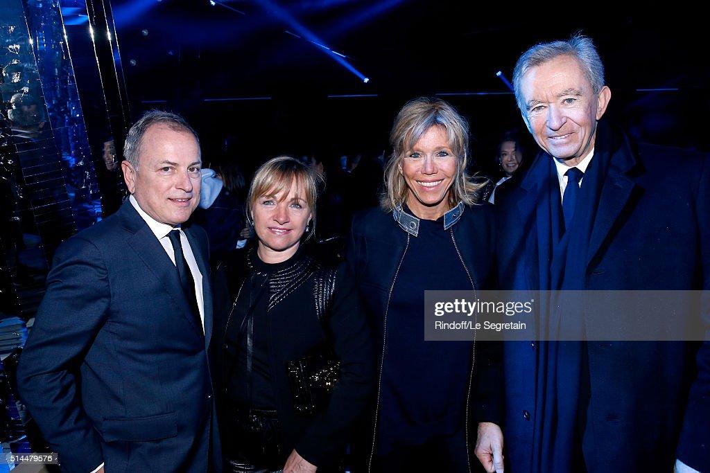 Louis Vuitton : Front Row  - Paris Fashion Week Womenswear Fall/Winter 2016/2017