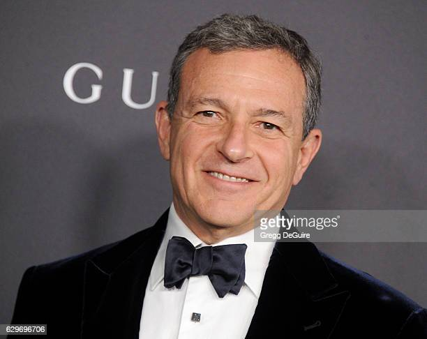 Chairman and Chief Executive Officer of The Walt Disney Company Robert A Iger arrives at the 2016 LACMA Art Film Gala Honoring Robert Irwin And...