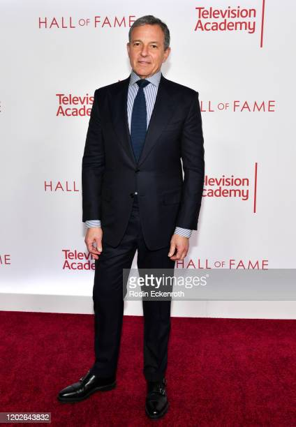 Chairman and Chief Executive Officer of The Walt Disney Company Robert Iger attends the Television Academy's 25th Hall Of Fame Induction Ceremony at...