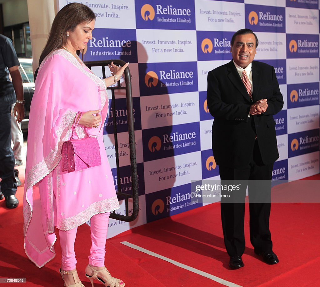 Chairman and Managing Director Reliance Industries Limited