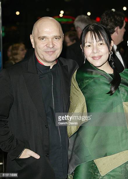 BFI chairman Anthony Minghella and his partner arrive at the opening gala for The Times BFI London Film Festival and the World Premiere of Vera Drake...
