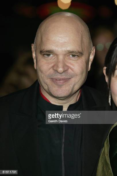 BFI chairman Anthony Minghella arrives at the opening gala for The Times BFI London Film Festival and the World Premiere of Vera Drake at the Odeon...