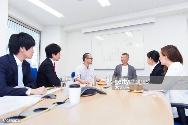 chairman awaiting this week's potential business plans - chairperson stock pictures, royalty-free photos & images