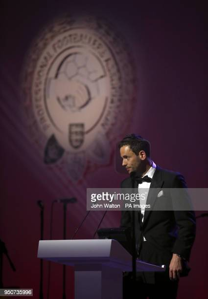 PFA chairman Ben Purkiss during the 2018 PFA Awards at the Grosvenor House Hotel London