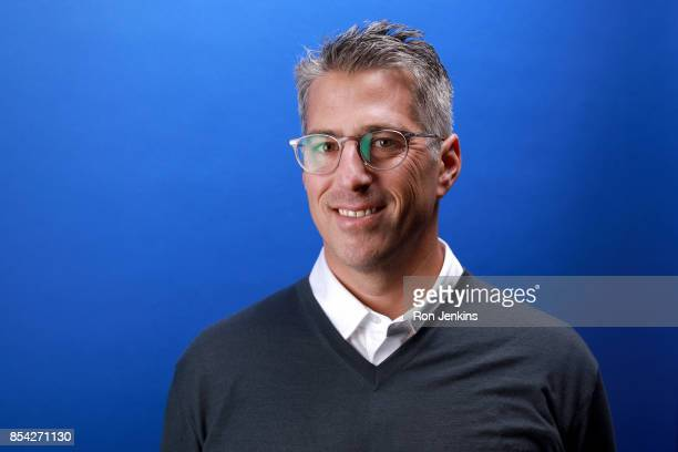 Chairman Casey Wasserman poses for a portrait during the Team USA Media Summit ahead of the PyeongChang 2018 Olympic Winter Games on September 26...