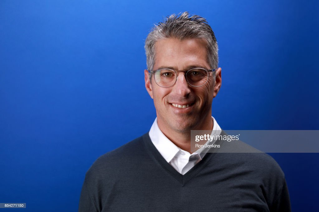 Chairman Casey Wasserman poses for a portrait during the Team USA Media Summit ahead of the PyeongChang 2018 Olympic Winter Games on September 26, 2017 in Park City, Utah.