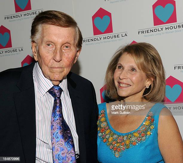 Chairman CBS/Viacom Sumner Redstone and Shari Redstone attend Friendly House LA Annual Awards Luncheon Gala at The Beverly Hilton Hotel on October 27...