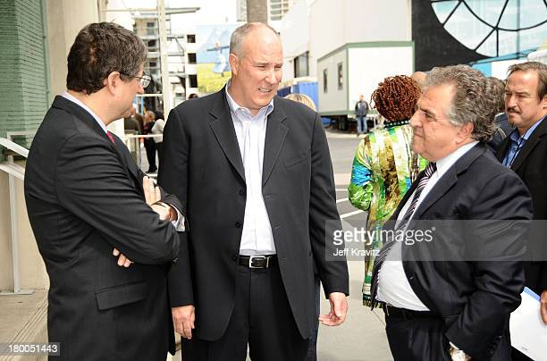Chairman CEO Fox Film Entertainment Tom Rothman President Worldwide Twentieth Century Fox Home Entertainment Mike Dunn and Chairman CEO Fox Film...