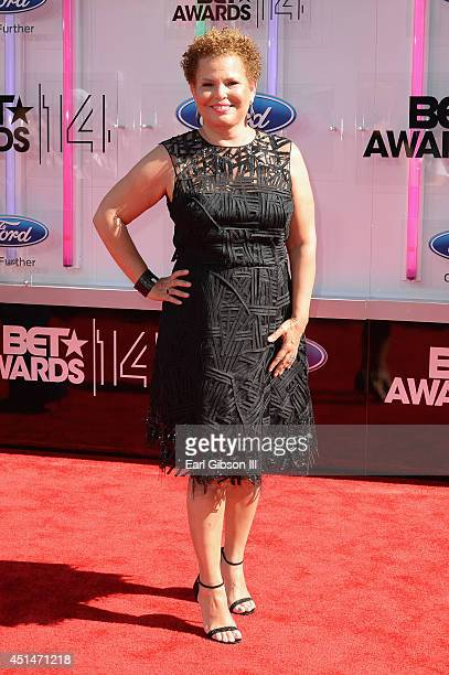 Chairman CEO of BET Debra L Lee attends the BET AWARDS '14 at Nokia Theatre LA LIVE on June 29 2014 in Los Angeles California