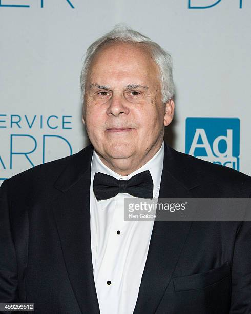 Chairman CEO of FedEx Corp Frederick Smith attends Ad Council's 61st Annual Public Service Award Dinner at The Waldorf=Astoria on November 19 2014 in...