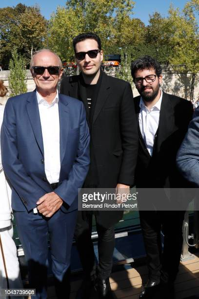 Chairman Chief Executive Officer of L'Oreal and Chairman of the L'Oreal Foundation JeanPaul Agon JeanVictor MeyersBettencourt and Nicolas...