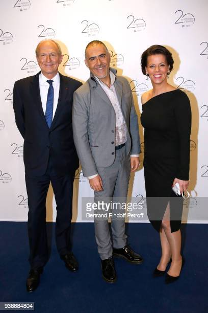Chairman Chief Executive Officer of L'Oreal and Chairman of the L'Oreal Foundation JeanPaul Agon Journalist Francois Durpaire and Executive Vice...