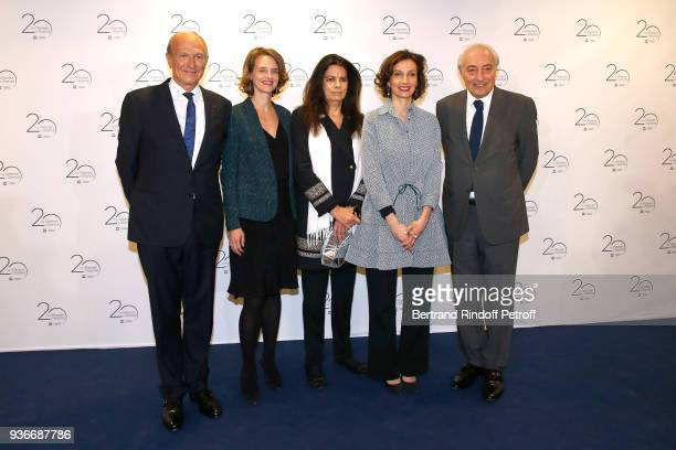 Chairman Chief Executive Officer of L'Oreal and Chairman of the L'Oreal Foundation JeanPaul Agon guest Francoise Bettencourt Meyers DirectorGeneral...