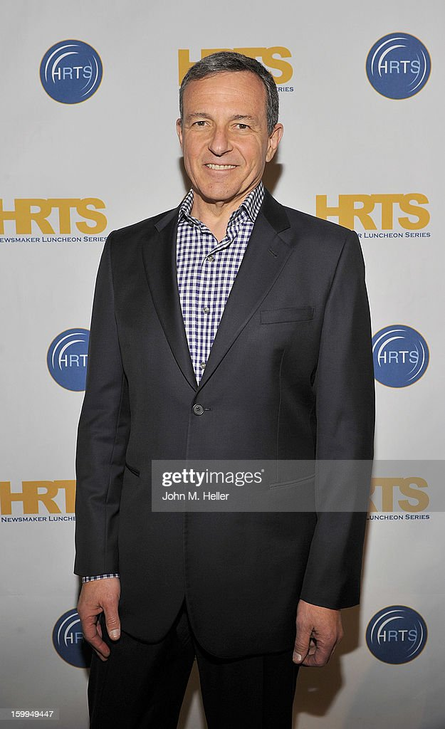 Chairman & Chief Executive Officer of the Walt Disney Company Robert A. Iger attends the Hollywood Radio & Television Society Newsmaker Luncheon Series at The Beverly Hilton Hotel on January 23, 2013 in Beverly Hills, California.