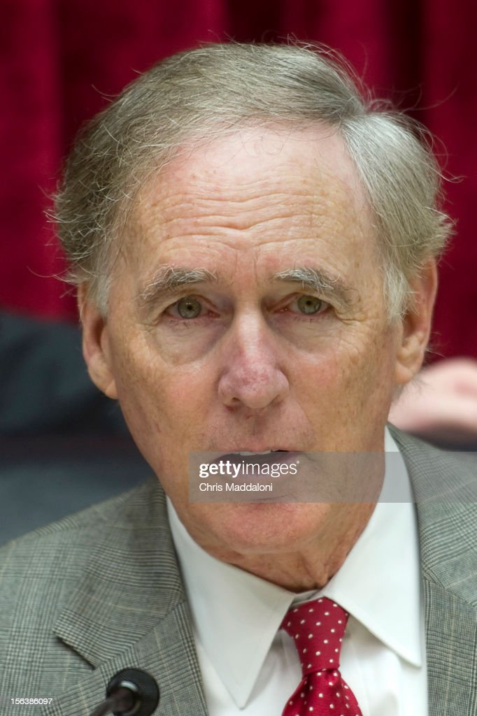 Chairman Cliff Stearns, R-Fl., at a House Energy and Commerce Oversight subcommittee hearing on 'The Fungal Meningitis Outbreak: Could It Have Been Prevented?' Photo by Chris Maddaloni/CQ Roll Call)