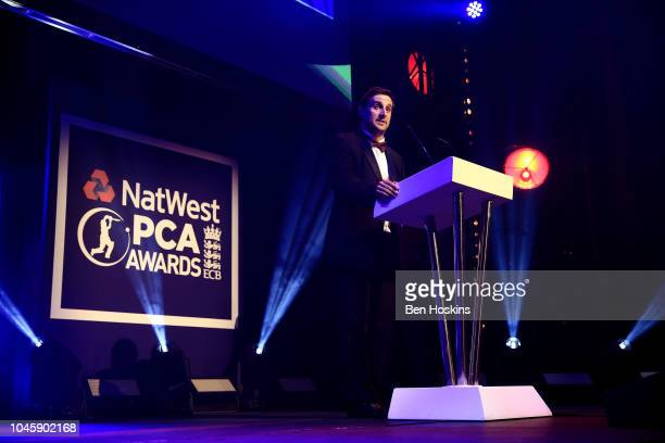 Chairman Daryl Mitchell speaks during the NatWest PCA Awards at The Roundhouse on October 4 2018 in London England